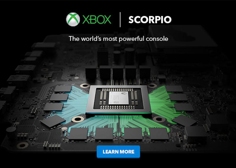Xbox Scorpio Name Leaked by Best Buy Canada