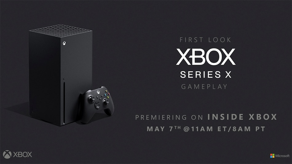 Xbox Series X First Gameplay Footage to Be Live Streamed on May 7