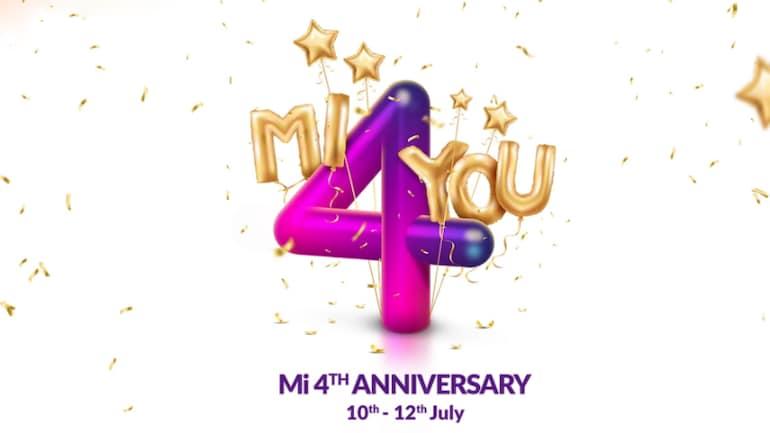Mi Anniversary Sale शुरू, 4 रुपये की फ्लैश सेल शाम 4 बजे
