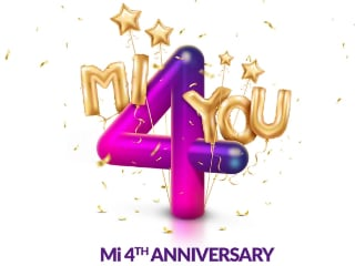 Xiaomi 4th Mi Anniversary Sale Last Day Today: Rs. 4 Flash Sale and Other Deals