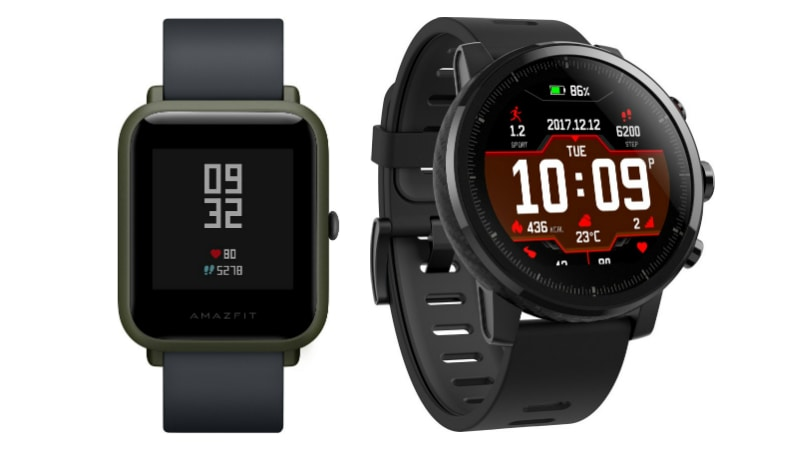 Xiaomi Backed Huami Amazfit Bip Stratos Smartwatches