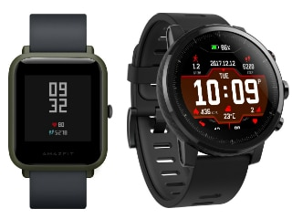Xiaomi-Backed Huami Amazfit Bip, Stratos Smartwatches Launched in India