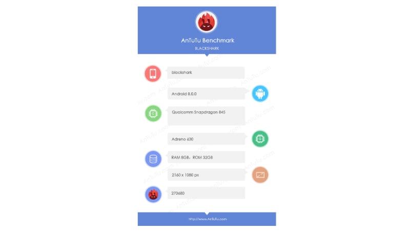 xiaomi blackshark gaming phone antutu Xiaomi BlackShark Gaming Smartphone Antutu