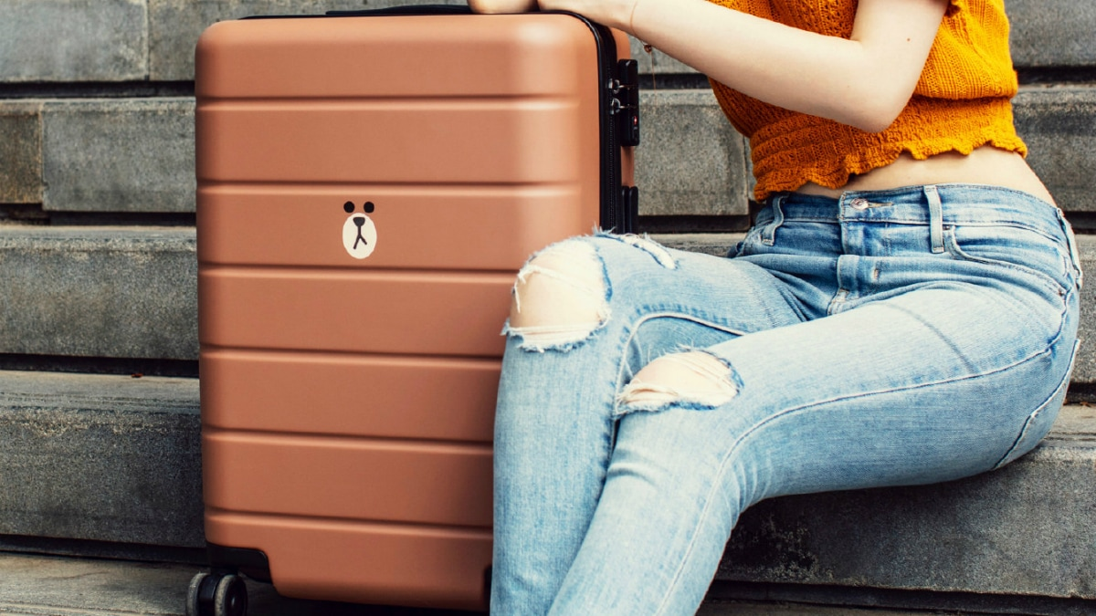 xiaomi brown bear limited edition suitcase Xiaomi Brown Bear Limited Edition Mi Suitcase