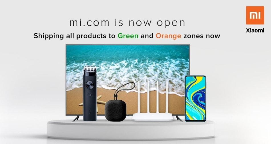 Redmi, Mi, Poco Phones Now on Sale via Online Platforms in Green and Orange Zones