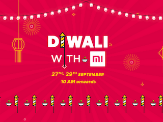 Xiaomi Diwali With Mi Sale Will See Offers on All Products, Starts September 27