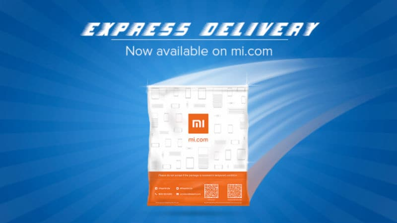 Xiaomi Launches Express Delivery Service for One-Day Deliveries