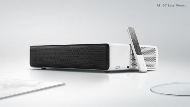 Xiaomi Mi Laser Projector, Ninebot Plus, and Mi Ultrasonic Toothbrush