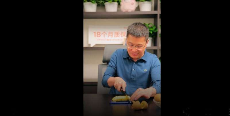 Redmi Note 7 Used as a Chopping Board, Nut Cracker in 'Test Videos'
