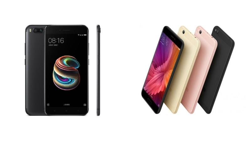 Xiaomi Mi 5X vs Mi 5c: Price, Specifications, Features Compared