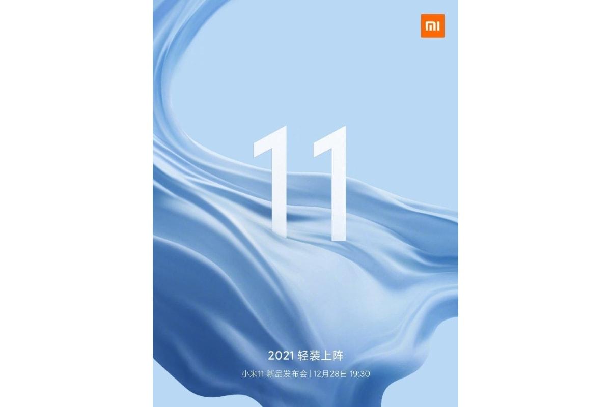xiaomi mi 11 launch invite weibo Xiaomi Mi 11  Mi 11  Xiaomi
