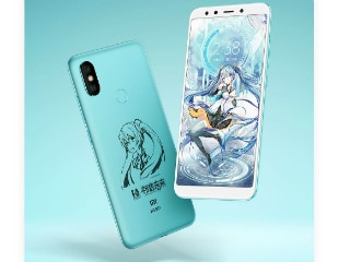 Xiaomi Mi 6X Hatsune Miku Limited Edition With Customised Gift Box Launched: Price, Specifications, Features