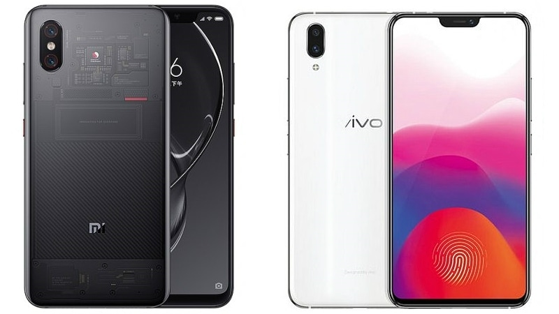 Xiaomi Mi 8 Explorer Edition vs Vivo X21: Price, Specifications, Features Compared