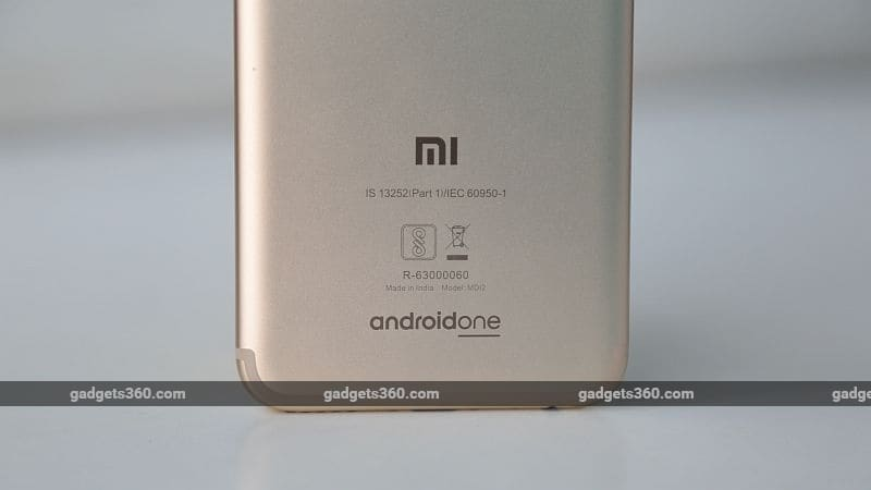 xiaomi mi a1 back gadgets360 1504522077479 Xiaomi Mi A1 Specifications Price in India