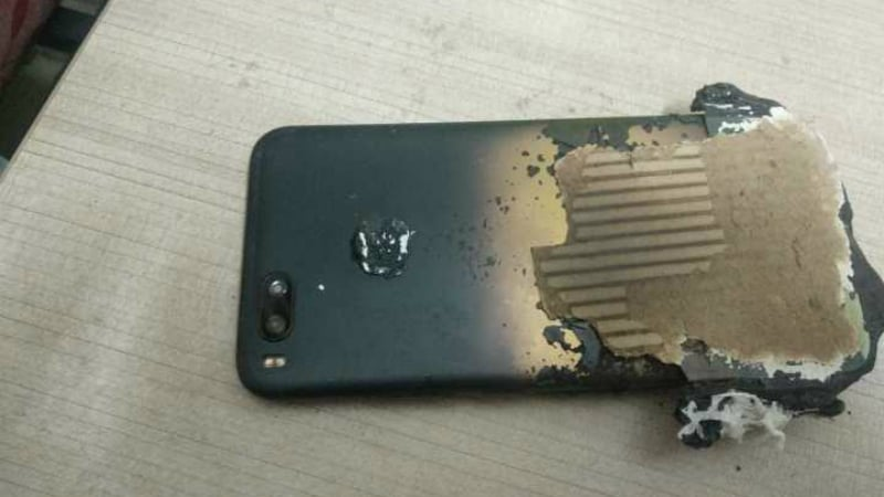 Xiaomi Mi A1 Allegedly Explodes While Charging, Mi A2