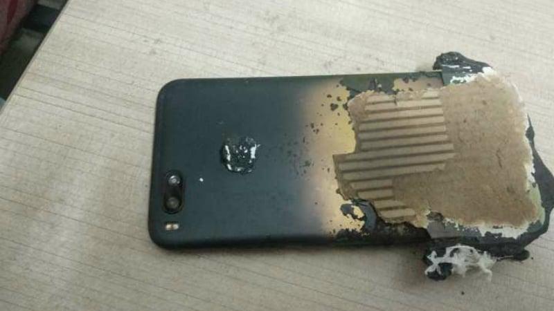 Xiaomi Mi A1 Allegedly Explodes While Charging, Mi A2 'Fingerprint Sensor Bug' Said to Impact Battery Life