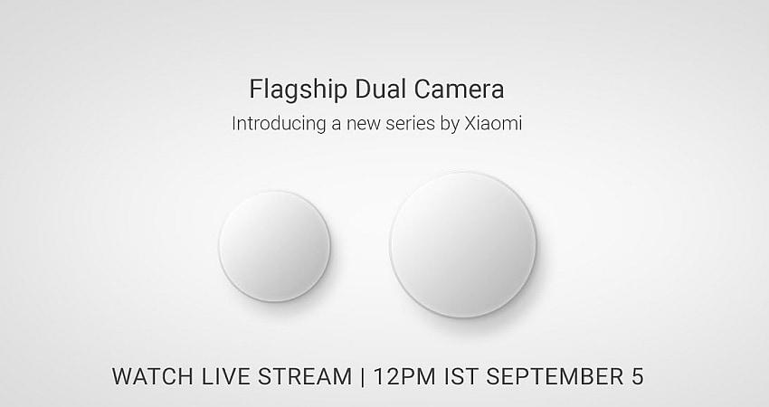 Xiaomi का डुअल कैमरा स्मार्टफोन आज होगा भारत में लॉन्च