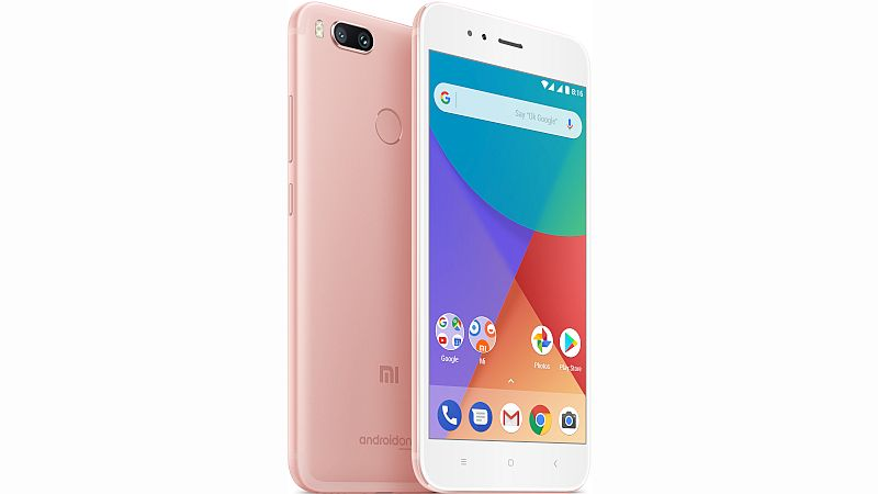 Xiaomi Mi A1 Rose Gold Colour Variant Launched in India