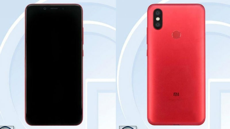 Xiaomi Mi A2 (Mi 6X) With 5.99-inch Display, 2910mAh Battery Spotted on TENAA