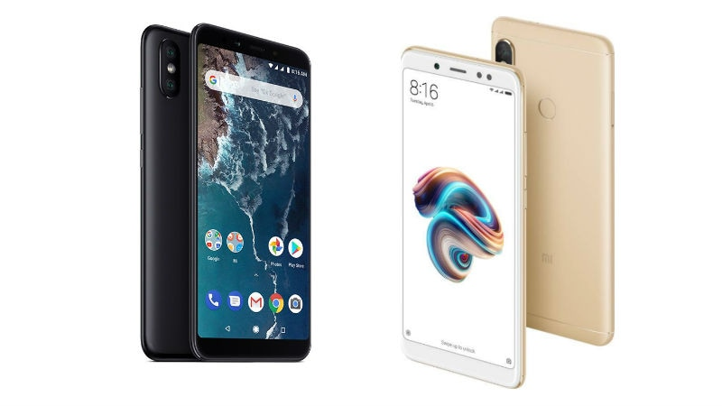 Mi A2 vs Redmi Note 5 Pro: Price in India, Specifications Compared
