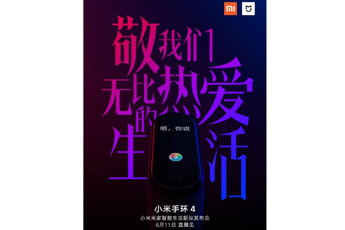 xiaomi mi band 4 weibo Xiaomi Mi Band 4