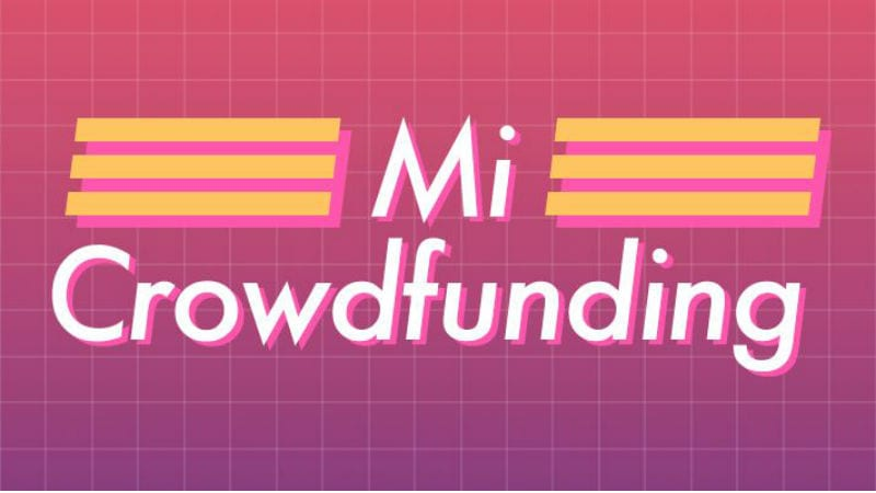 Image result for mi crowdfunding