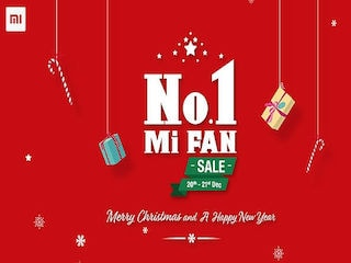Xiaomi Mi A1 Discount, Re. 1 Flash Sales Continue on Day 2 of No.1 Mi Fan Sale