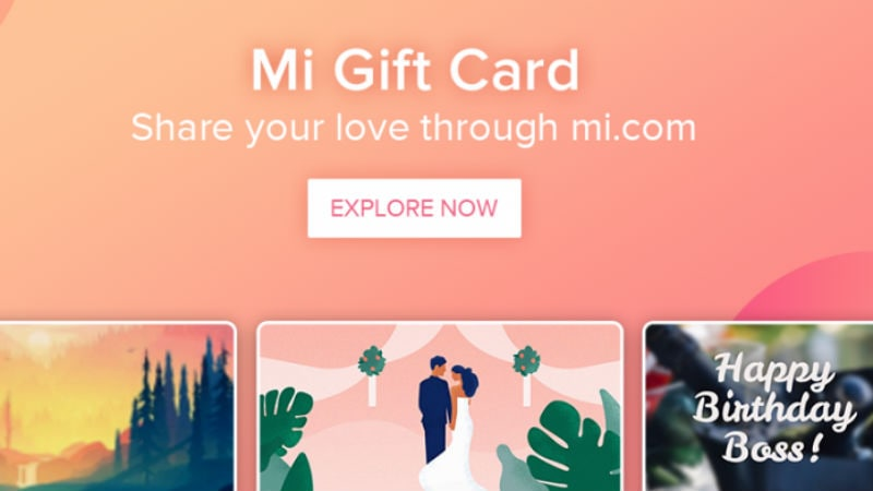 Xiaomi Mi Gift Card Programme Launched In India How To Purchase And