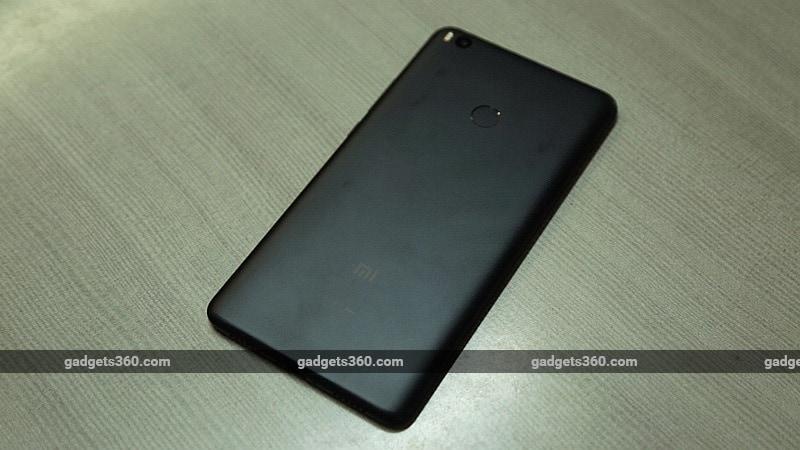 xiaomi mi max 2 black back gadgets 360 xiaomi