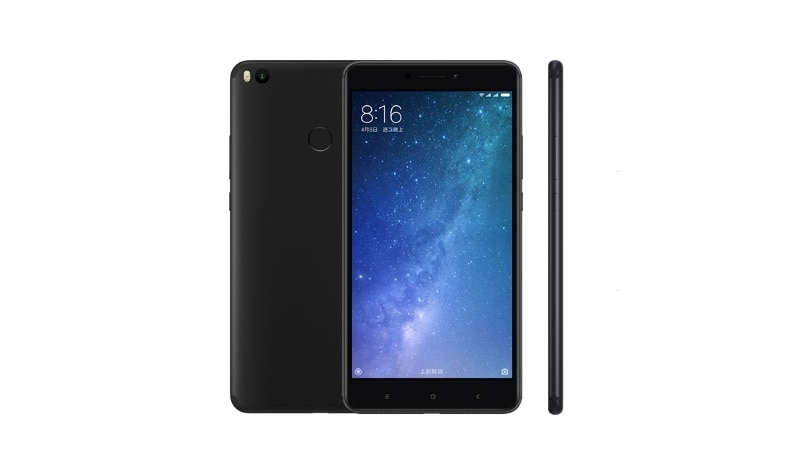 Xiaomi Mi Max 2 Matte Black Colour Variant Launched