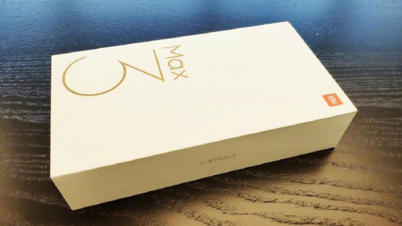 Xiaomi Mi Max 3 के रिटेल बॉक्स की तस्वीर लॉन्च से पहले सार्वजनिक