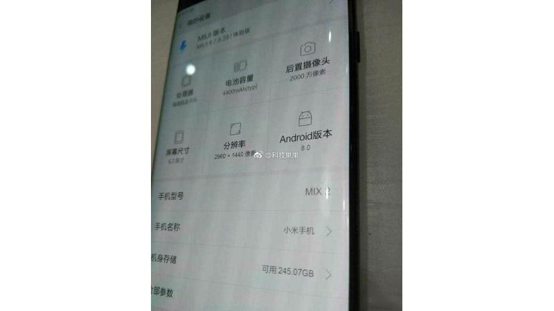 xiaomi mi mix 2 a story Xiaomi Mi Mix 2 Story