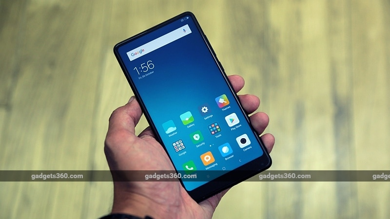Xiaomi Mi MIX 2 With 5.99-Inch Bezel-Less Design Launched With Rs. 35,999 Price Tag