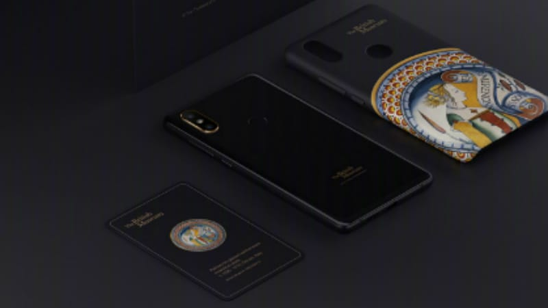 Xiaomi Mi MIX 2S Art Special Edition Launched in Collaboration With British Museum