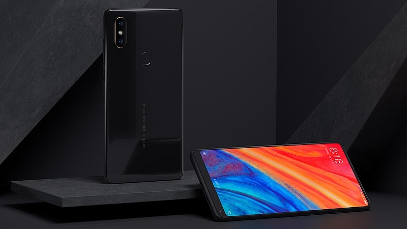 xiaomi mi mix 2s black side xiaomi