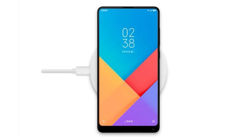 Mi MIX 2s to Come With Wireless Charging Support, Confirms Xiaomi