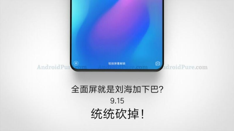 Xiaomi Mi Mix 3 With Bezel-Less Display Tipped to Launch on September 15