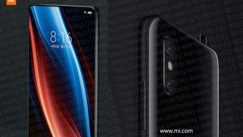 Xiaomi Mi Mix 3 Spotted in Leaked Images With Pop-Up Selfie Camera Like Vivo Nex