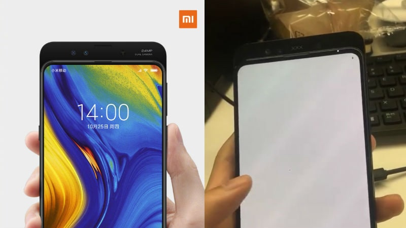 Xiaomi Mi Mix 3 960fps Video Recording Confirmed; Leaked Images Show Dual Front Cameras