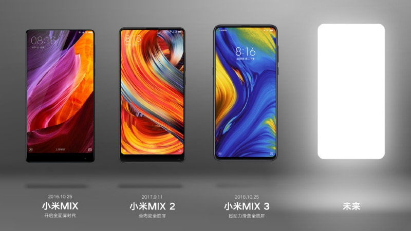 Xiaomi Teases a New Mi Mix Series Smartphone, Could Be Mi Mix 4