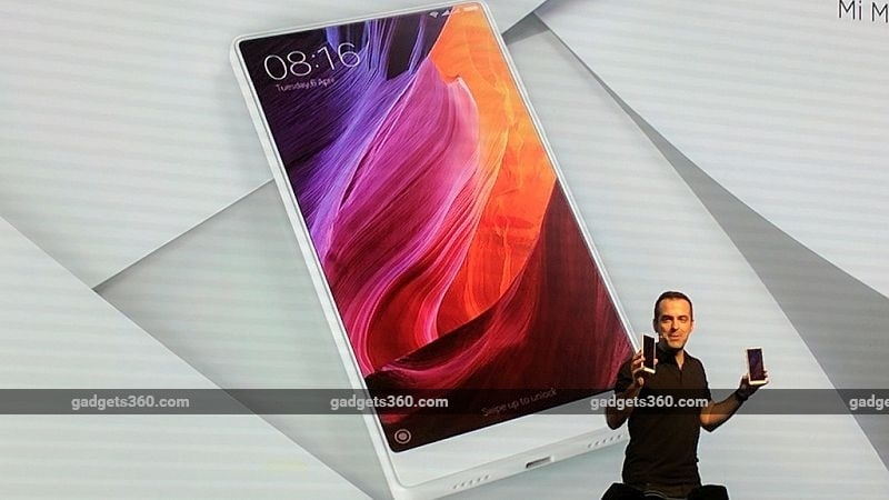 Xiaomi Mi MIX White Colour Variant Unveiled at CES 2017; China Launch Later This Year But No Pricing Details Yet
