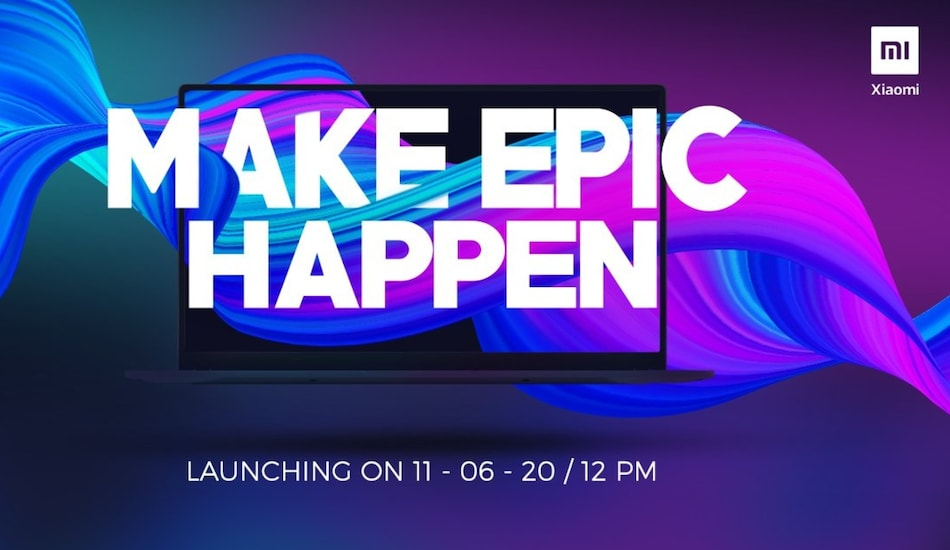 Mi Notebook: Xiaomi to Launch Its First Laptop in India on June 11