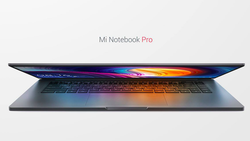 Image result for Xiaomi Mi Notebook Pro with 15.6-Inch Display unveiled