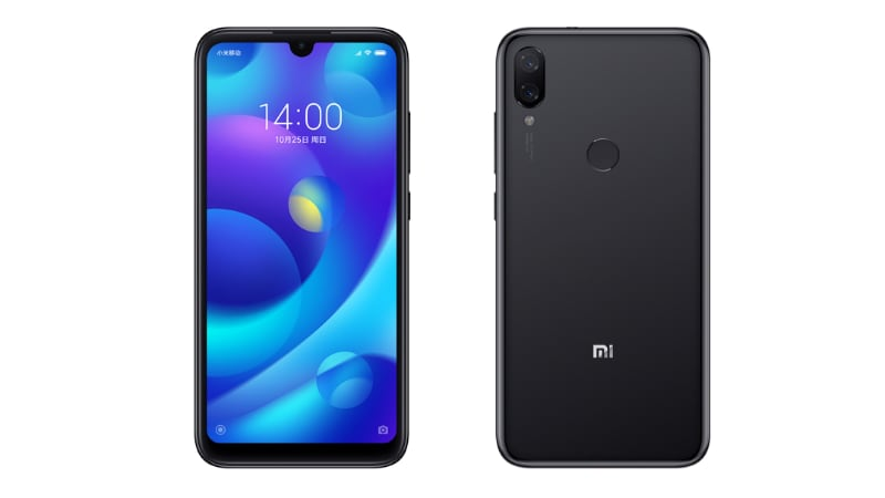 Xiaomi Mi Play With 19:9 Display, Dual Rear Camera Setup Unveiled: Price, Specifications