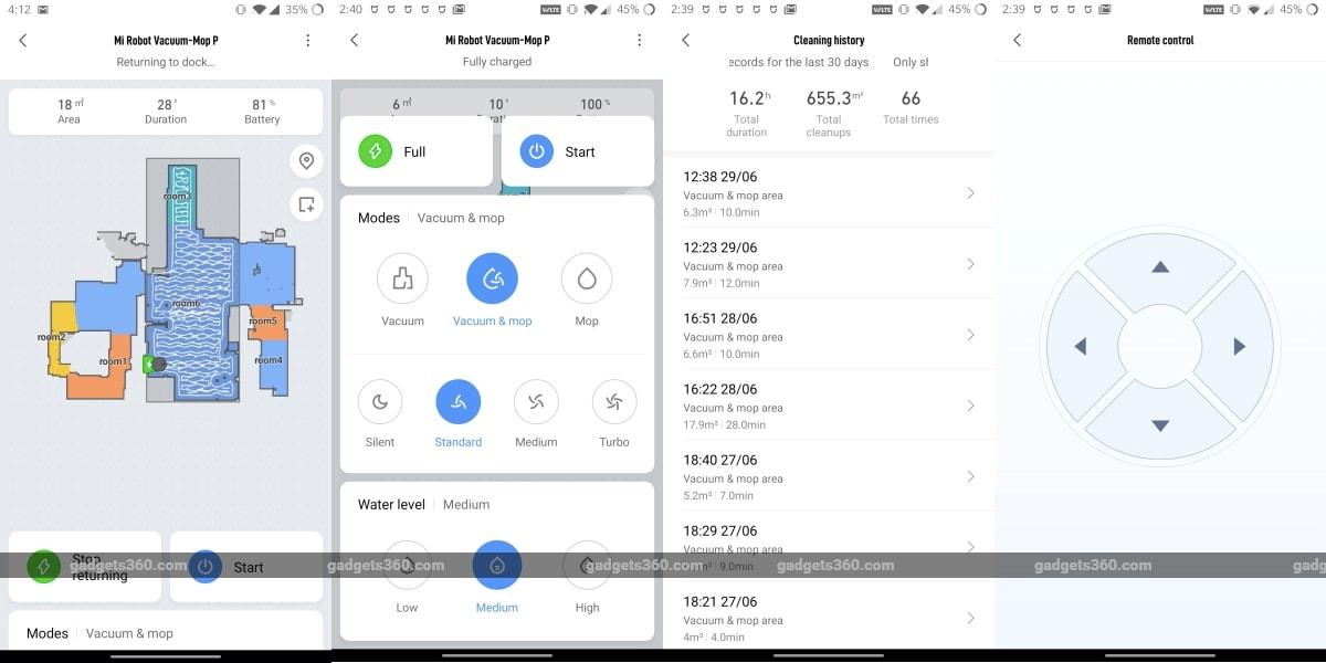xiaomi mi robot vacuum mop p review app Xiaomi  Mi Robot Vacuum-Mop P
