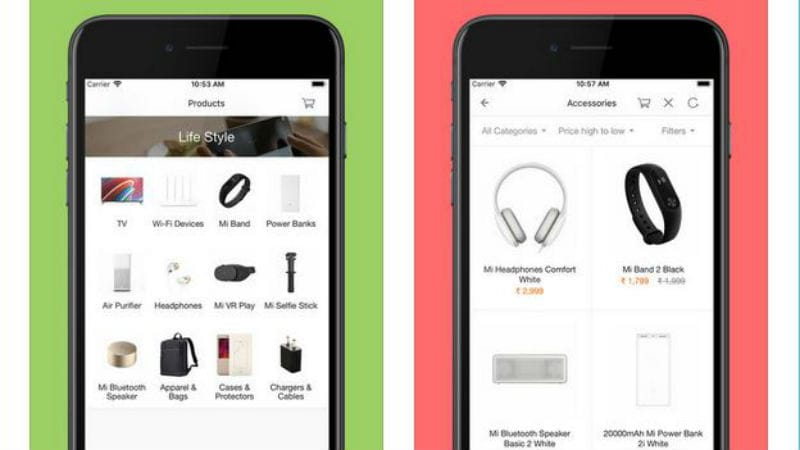 Xiaomi Mi Store App Now Available for the iPhone