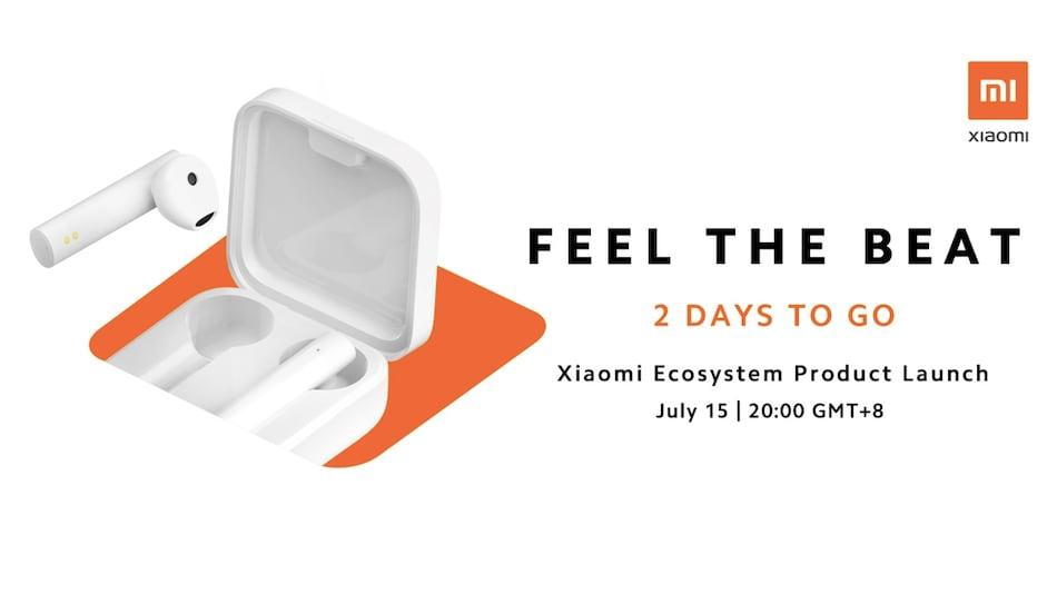 Xiaomi Mi True Wireless Earphones 2 Basic Set to Launch on July 15