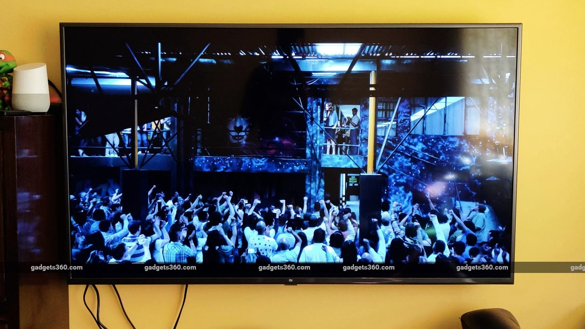 xiaomi mi tv 4x 55 review jack ryan 4k hdr Xiaomi