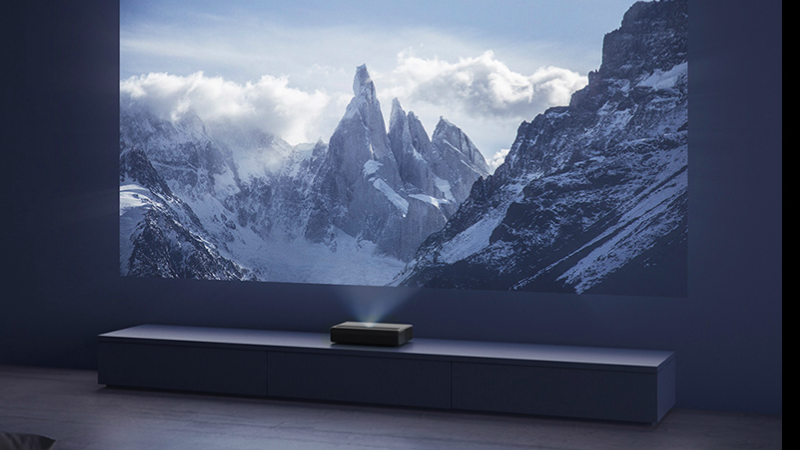 Xiaomi Mijia Laser Projector 4K With 150-Inch Virtual Screen