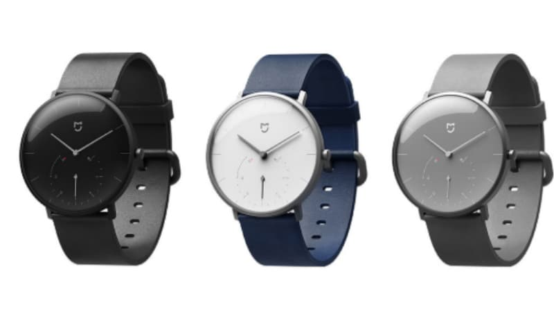 Xiaomi Mijia Quartz Watch With Calorie Counter, Pedometer Launched